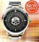 New Product !! Harley Davidson Skull Watches Classic car