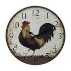 elkl 118031 rooster wall clock