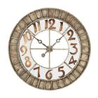 elkl 1281001 sterling 128 1001 metal round outdoor wall clock 36 inch montana