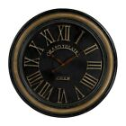 elkl 130006 sterling 130 006 puglass clock with distressed hand painted frame