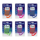 BAZIC 8-Digit Pocket Size Calculator w/ Neck String