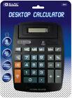 BAZIC 8-Digit Large Desktop Calculator w/ Adjustable Display Case Pack 48