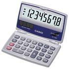 CASIO SL-100L Solar Calculator with Folding Hard Case