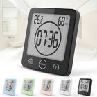 Waterproof Shower Clock Suction Countdown Alarm Timer Temperature Humidity YXSC4