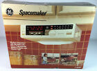 General Electric GE Spacemaker Kitchen Companion AM/FM Radio Clock Light 7-4230