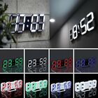 Modern Digital LED Desk Room Clock Watches Alarm Snooze Night Home Office XP
