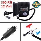 300 PSI Air Compressor Portable Pump Auto Car SUV Tire 12V W/ 3 adapters M2
