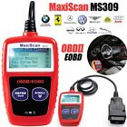 MS309 OBD2 Auto Car Diagnostic Code Scanner Reader Automotive Detector Tool M2