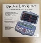 New York Times Electronic Crossword Puzzle Dictionary Handheld Excalibur #461