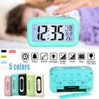 Student Table Temperature Light Sensor LCD Display Digital Snooze Alarm Clock