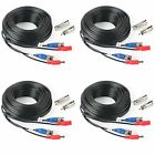Pre-Made All-in-One Camera Video 4Pack 33Feet BNC Video Power Cable Wireless