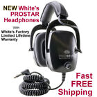 New White's ProStar Headphones to use with your Metal Detector * Fast FREE Ship