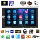 """7"""" Android 6.0 Car GPS Nav Stereo Radio HD Quad Core 3G WIFI 2DIN TFT MP5 Player"""