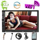 """7"""" Android 6.0 Car Radio Stereo Quad Core 3G WIFI Double 2DIN MP5 Player GPS US"""
