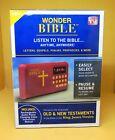 Allstar Products Group Wonder Bible Audio Book Alarm Clock Player WBO11124 Dmg B