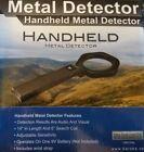 New Black HANDHELD METAL DETECTOR Winbest by Barska - Audio & Visual wrist strap
