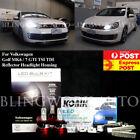 JW KONIK LED H7 H15 Headlight DRL High Low Beam for VW Golf MK 6 7 GTI TSI TDI