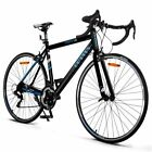 Road Bike Commuter Bike Shimano 700C Aluminum 21 Speed Quick Release Racing Bicy