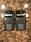 Texas Instruments TI-30XA Scientific Calculator with Cover — Two units