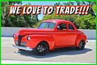 Ford Coupe 5-Window Custom Coupe / Police Interceptor 4.6L V8 1941 Ford 5-Window 2-Door Coupe 4.6L V8 5-Speed Manual