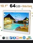 Tablet 4G+64G 10.1 Android 6.0 quad octa core tablet pc