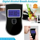 Portable LCD Digital Breath Alcohol Sensor Tester Breathalyser Police Detector