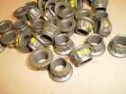 Header stud Nuts 3/8 24 fine thread locking 12 point Qty 16 new moly coated