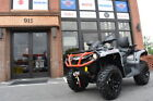 2018 Can-Am® Outlander™ MAX XT™ 650 Brushed Aluminum & Can-Am R  0 Brushed Alumi