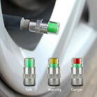 4 Pcs Car Auto Tire Monitor Valve Dust Cap Pressure Indicator Sensor Eye AlertP*