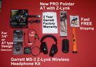 NEW Garrett PRO Pointer AT Detector with Z-Lynk & MS-3 Wireless Headphone Kit
