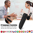 Smart Multi-Language Translator Instant Voice Traducteur /w Earphone 22 Language