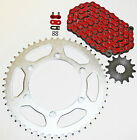 Yamaha 1999-14 YZ250 / 1999-01 WR400 F Red O Ring Chain And Sprocket 13/48 114L
