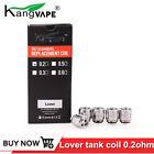 Nice quality 5pcs Original Kangvape lover tank replacement coil 0.2ohm free ship