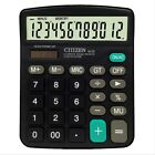 12-Digits Desk-Top Calculator Dual Power Power Switch For Office School Shop US