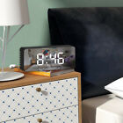 Alarm Clock Digital LED Display Portable Modern USB/Battery Operated Mirror HK23