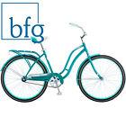 "Womens Cruiser Bike 26"" Schwinn Huntington Single Speed Rack Coaster Break Teal"