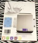 NEW Etekcity Digital Kitchen Scale Multifunction Food 11 LB 5Kg Silver Stainless