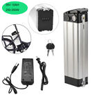 36V 10Ah Lithium Battery w/ Charger for 350W Electric Bicycle Bike E-Bike 4 Pins