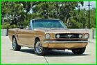Ford Mustang Custom / 289 V8 / NUMBERS MATCHING 1965 Ford Mustang Convertible 289 V8 Automatic Custom Show Car