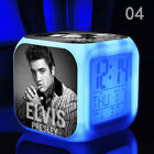 ELVIS PRESLEY 7 Colors Changing Digital Alarm Clock, Bonus CABLE (style 4)