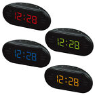 AM/FM LED Alarm Clock Radio Electronic Desktop Digital Clocks Snooze Function