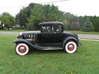 1931 Ford Model A  1931 ford coupe real 60s hot rod