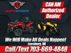 2018 Can-Am® Outlander™ MAX XT™ 850 Brushed Aluminum & Can-Am R  0 Brushed Alumi