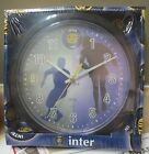 Inter Milan 10 inch Clock Milan Italy Official Product with hologram BRAND NEW