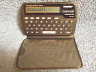 FRANKLIN CWP-100 ELECTRONIC CROSSWORDS PUZZLE SOLVER MERRIAM WEBSTER W CASE NICE