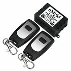 eMylo DC 12V 1 Channel 433Mhz RF Wireless Relay Remote Control Momentary Light