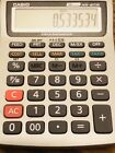 CASIO HR-8TM MINI PORTABLE PRINTING CALCULATOR W/ CURRENCY CONVERSION & CHARGER