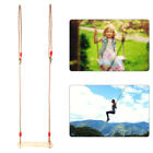 High quality polished four board antiseptic wood outdoor indoor swing pasto #Z