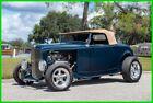 1932 Ford Model A Dual 4-BBL Carb / Edelbrock 350 V8 / Custom Tan Vinyl 1932 Ford Model A Highboy Edelbrock 350 Performer V8 Automatic
