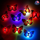 Color Changing Butterfly LED Night Light Power Failure lamp Home Bedroom Decor